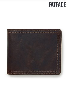 FatFace Brown James Border Wallet
