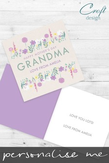 Personalised Someone Special On Mother's Day Card by Croft Designs