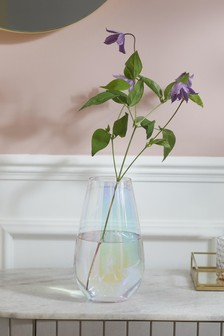 Lustre Glass Vase