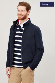 Joules Blue Glenwood Lightweight Showerproof Jacket