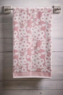 Ręczniki w motywy kwiatowe