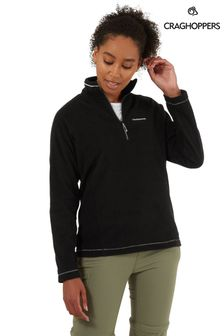 Craghoppers Black Miska HZ Fleece
