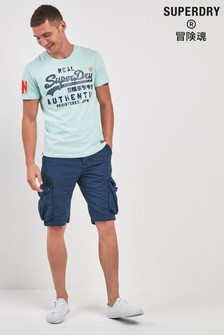 Superdry Navy Cargo Short