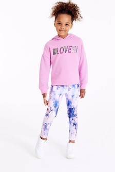 Love Slogan Sports Set (3-16yrs)