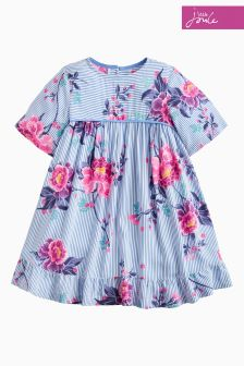 Joules Blue Judy Peplum Dress