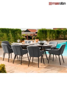 Zest 8 Seater Dining Set By Maze Rattan