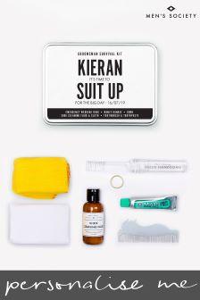 Personalised Groomsman Survival Kit by Mens Society
