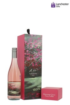 La Vue Grenache Rosé And Truffles Gift Box by Lanchester Gifts