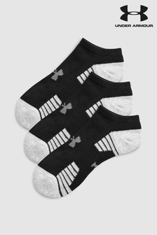 Under Armour No Show Tech Socks Three Pack
