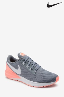 Nike Run Grey/Pink Air Zoom Structure