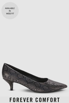 Forever Comfort Kitten Heel Court Shoes