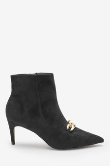 Forever Comfort® Chain Detail Ankle Boots