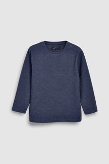 Textured Long Sleeve Top (3-16yrs)