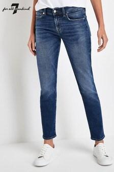 7 For All Mankind® Vintage Roxanne Slim Crop Jean