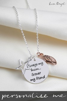 Personalised Always My Mum Necklace by Lisa Angel
