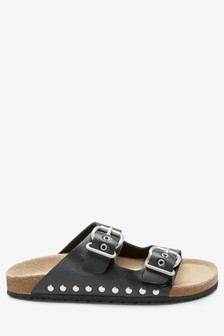 Buckle Corkbed Sandals (Older)