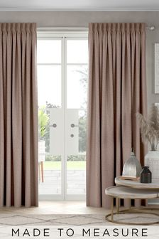 Mink Chenille Made To Measure Curtains