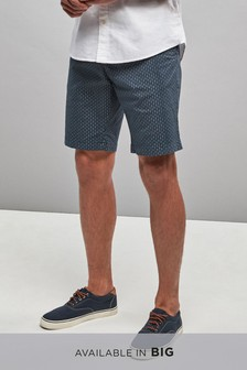 Arrow Print Chino Shorts