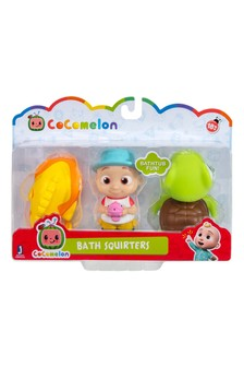 Cocomelon Bath Squirters Shark, Turtle and JJ 3 pack