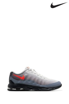 Nike Grey/Red Air Max Invigor Junior Trainers