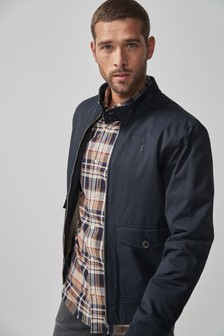 Borg Lined Harrington Jacket