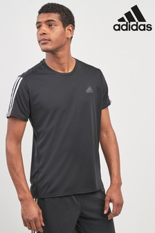adidas Run 3 Stripe T-Shirt