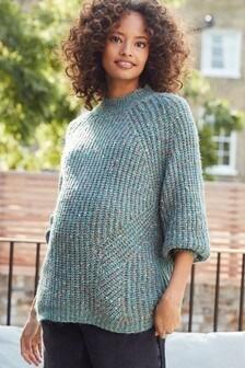 Maternity Volume Sleeve Knit Jumper
