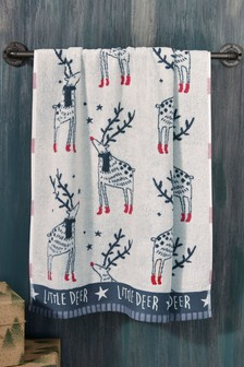 Matching Family Little Deer Towel
