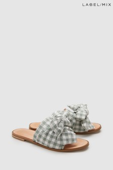 Mix/E8 Peggy Gingham Sandal