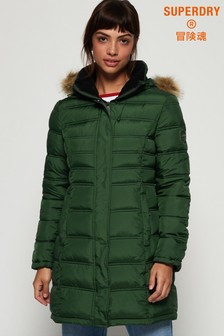 Superdry Green Mountain Fuji Coat