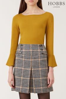 Hobbs Yellow Maria Sweater