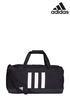 adidas Medium 3 Stripe Duffel Bag