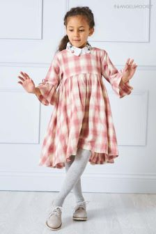 Angel & Rocket Pink Check Dress