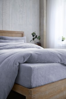 Super Soft Fleece Fitted Sheet