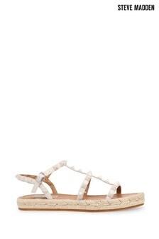 Steve Madden White Libera Sandals
