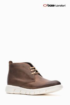 Base London® Brown Snowdon Lace-Up Casual Boot