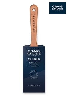 Craig & Rose Wood 63mm Wall Paint Brush