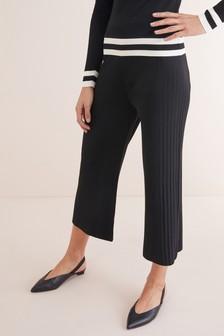 Pantalones culottes de punto