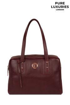 Pure Luxuries London Madox Leather Handbag