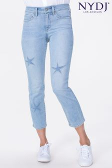 NYDJ Light Denim Sheri Slim Leg Ankle Jean