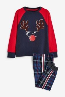 Christmas Cosy Check Pyjamas (1.5-16yrs)