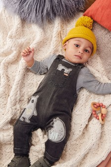 29e812955 Newborn Boys Dungarees | Denim Dungarees For Newborn Boys | Next