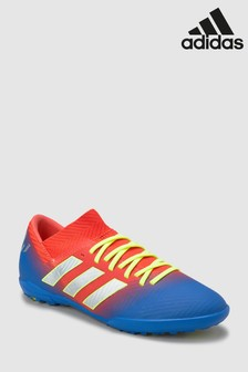 adidas Red Messi Nemeziz Turf Junior & Youth