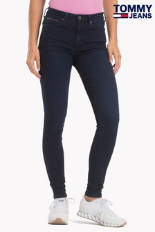 Tommy Jeans Blue High Rise Super Skinny Jeans