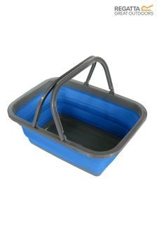 Regatta Blue Silicon Folding Wash Basin