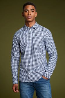 Tommy Jeans Blue Gingham Shirt