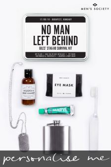 Personalised Stag Survival Kit by Mens Society