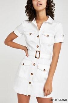 e4e1f149b Buy Women's dresses Shirtdress Shirtdress Dresses Riverisland ...