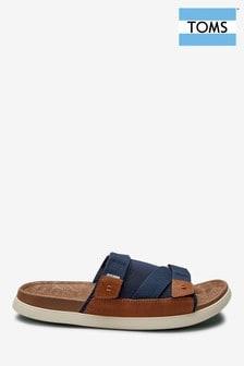 TOMS Navy Sandal