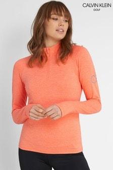 Calvin Klein Golf Women's Vibe 1/4 Zip Layering Top